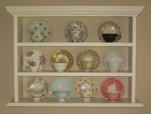 Display And Curio Shelves