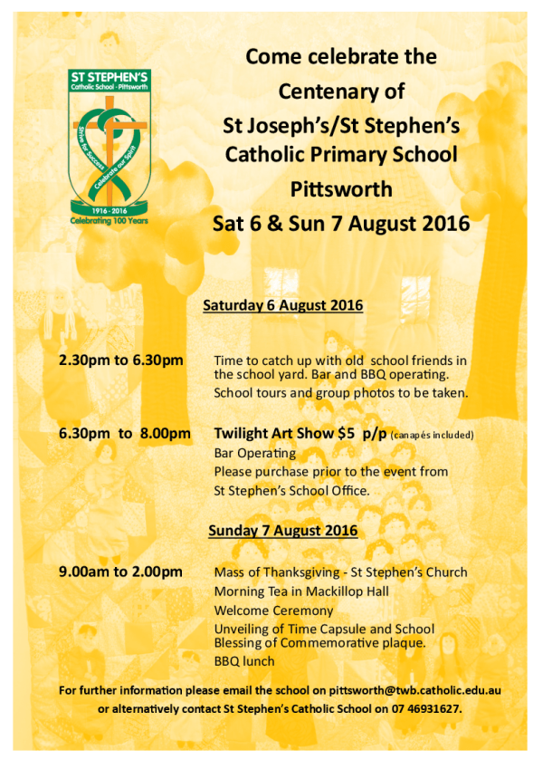 St Stephens Flyer