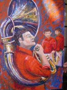 262 - Suonatore di trombone