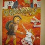 272 - Achille e Pentesilea 70x100