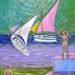 361 - Barche a vela 35x50