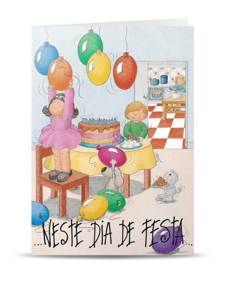 aniversário Página 6 de 8 PIUI Postais Greeting Cards