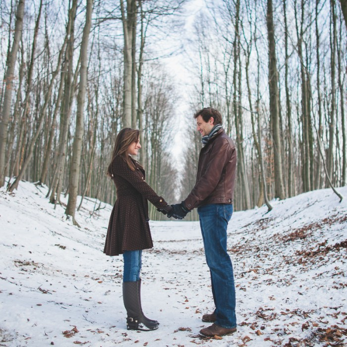 Winter Engagement Session /E-Session d'hiver