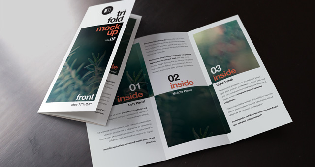 Healthy Living Psd Entry 3 By Gioia67 Teaching Resources Psd Tri Fold Mockup Template Vol2 Psd Mock Up Templates