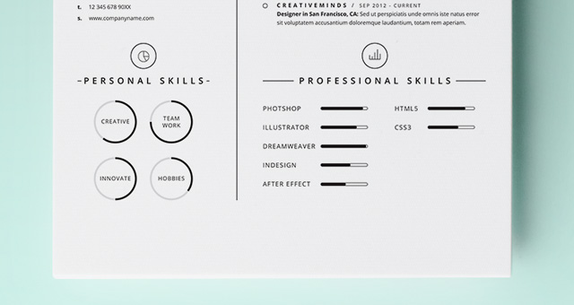 simple graphic designer resume - Onwebioinnovate - Simple Graphic Design Resume