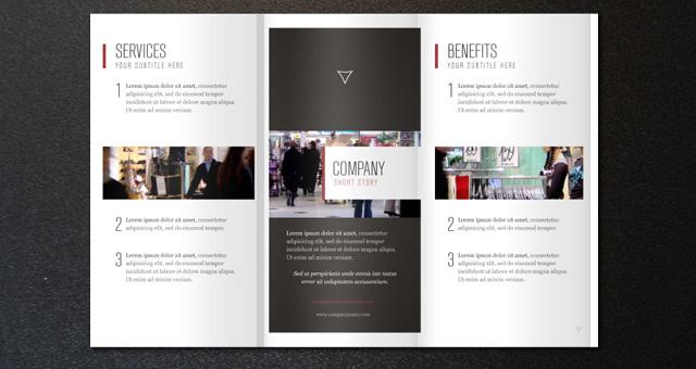 Corporate Tri Fold Brochure Template 2 Brochure Templates Pixeden