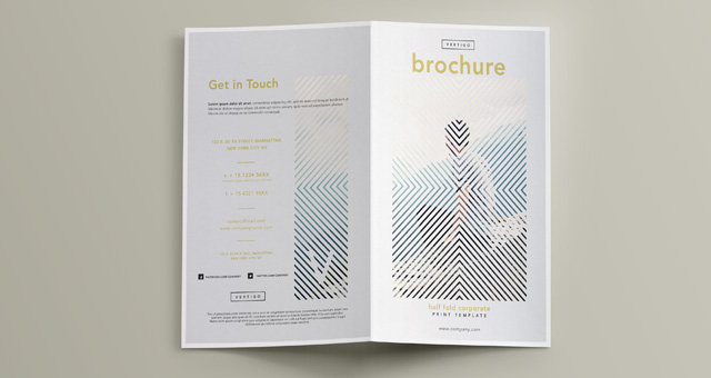 Premium and Free Brochure Templates Pixeden