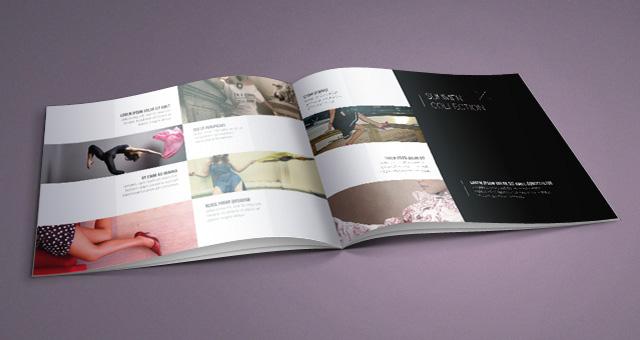 Fashion Catalog Template Catalog Templates Pixeden
