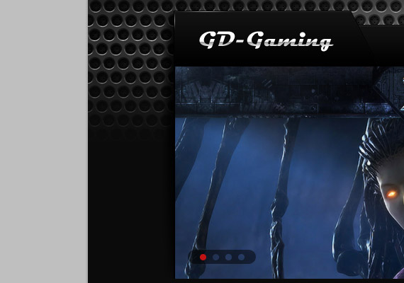 Photoshop Tutorial : Create a Simple Gaming Layout