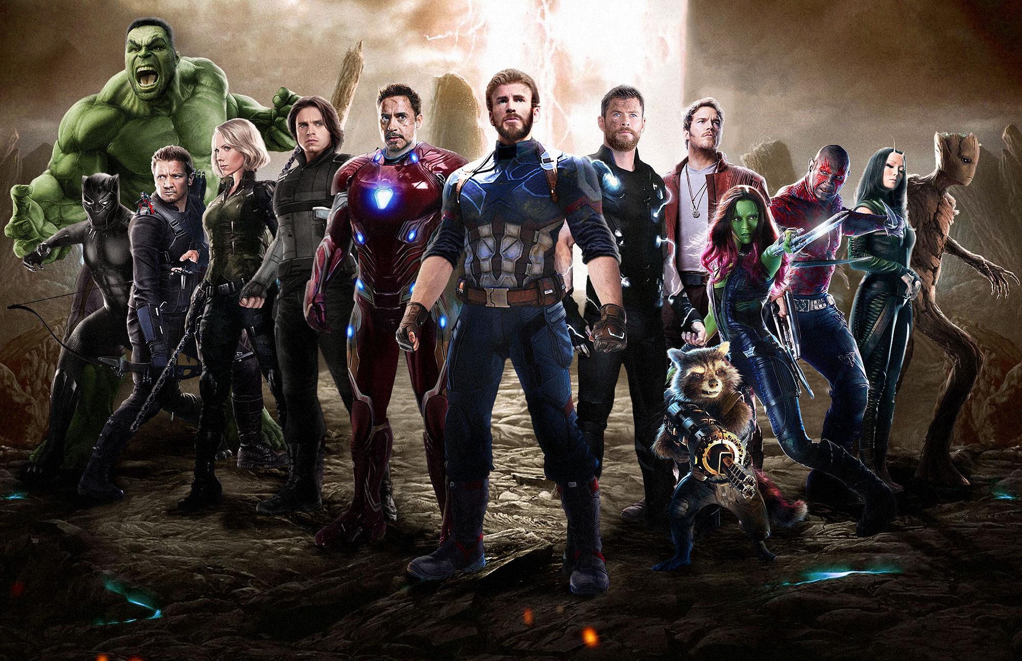 Cute Animal Iphone Wallpaper Avengers Infinity War 2018 Movie Fan Art Wallpapers High