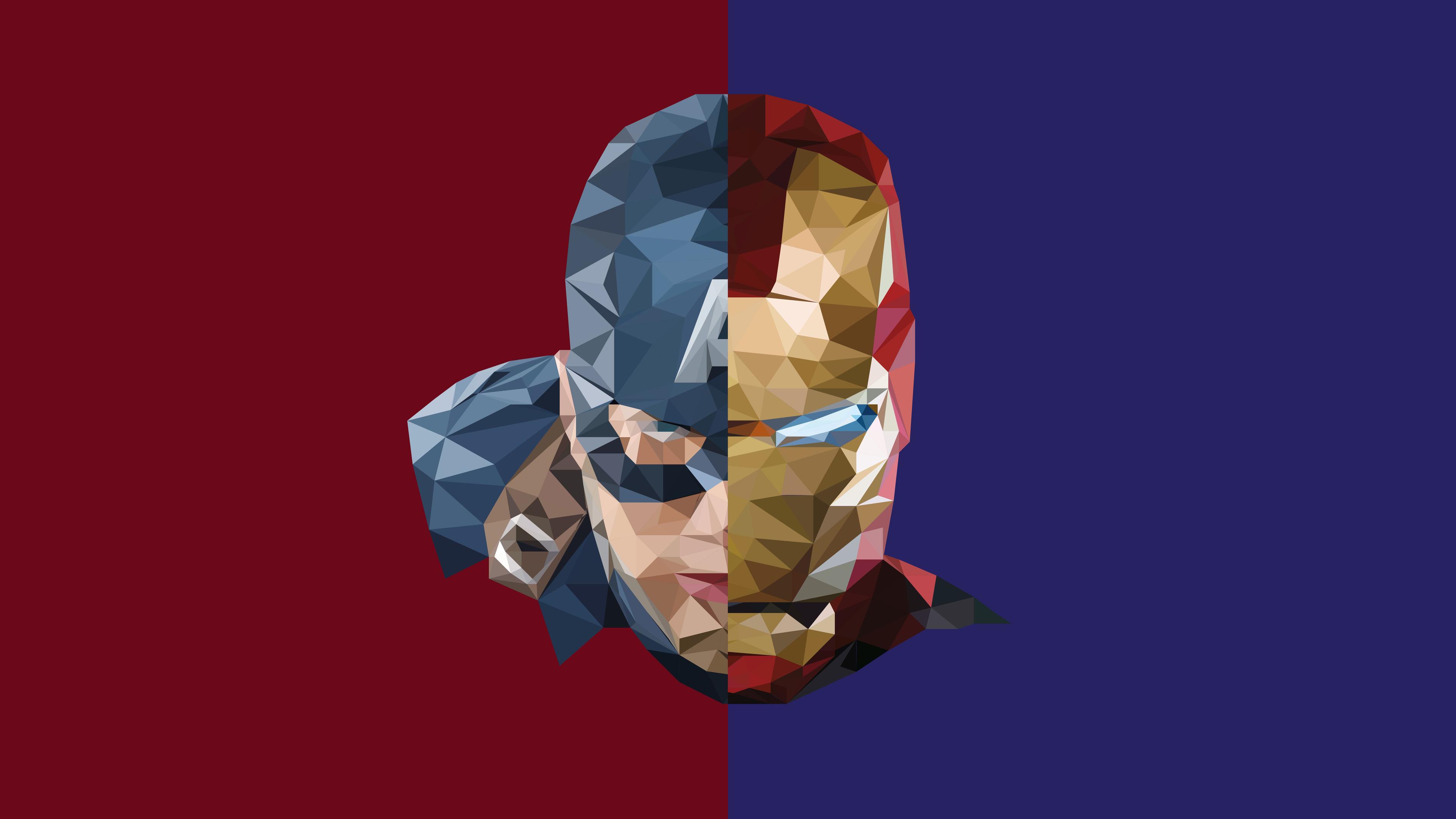 1280x1280 Car Wallpaper Iron Man Captain America Abstract Iron Man Wallpapers Hd