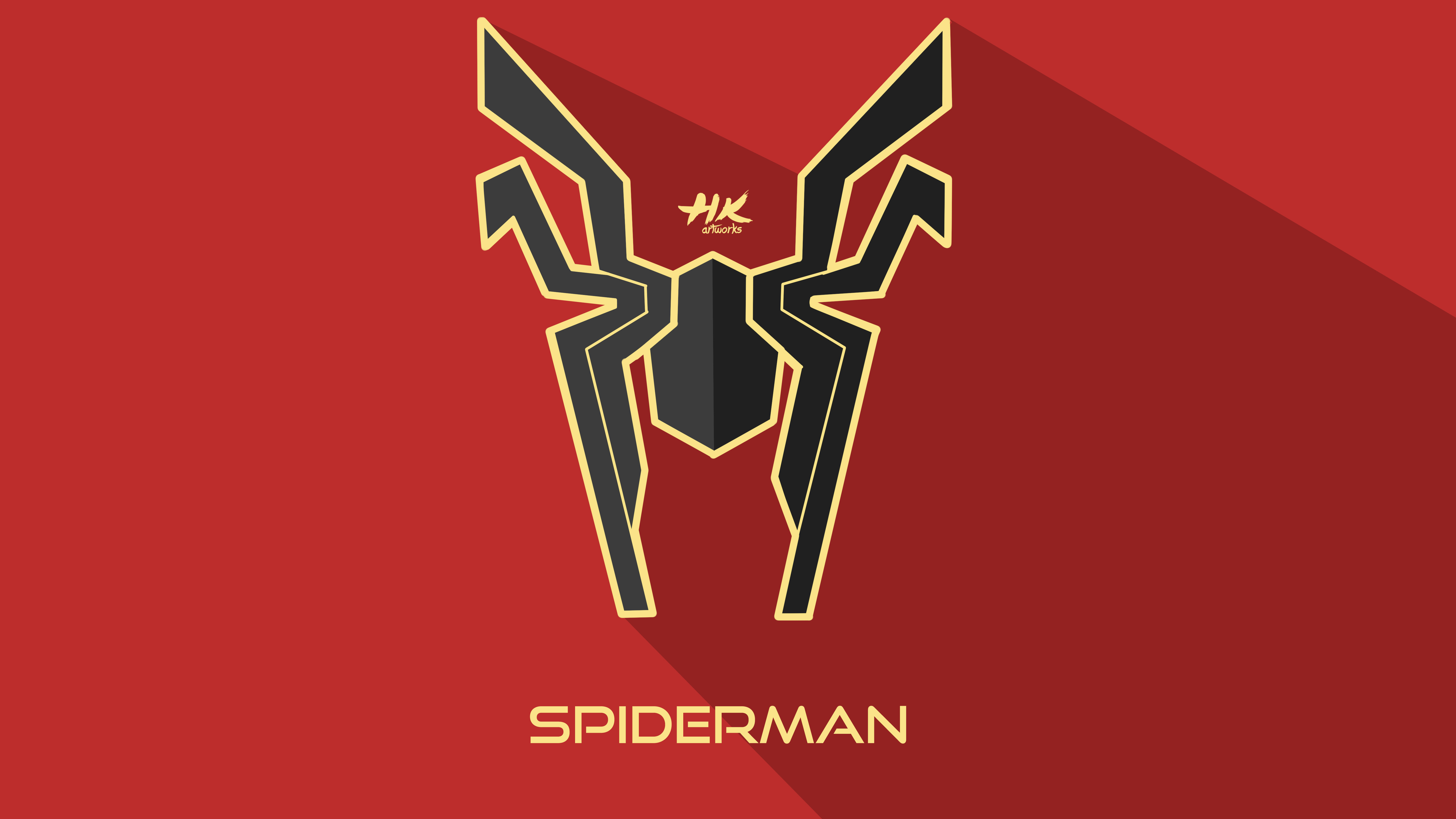 Marvel Hd Wallpapers For Mobile Iron Spider Infinity War Logo Superheroes Wallpapers