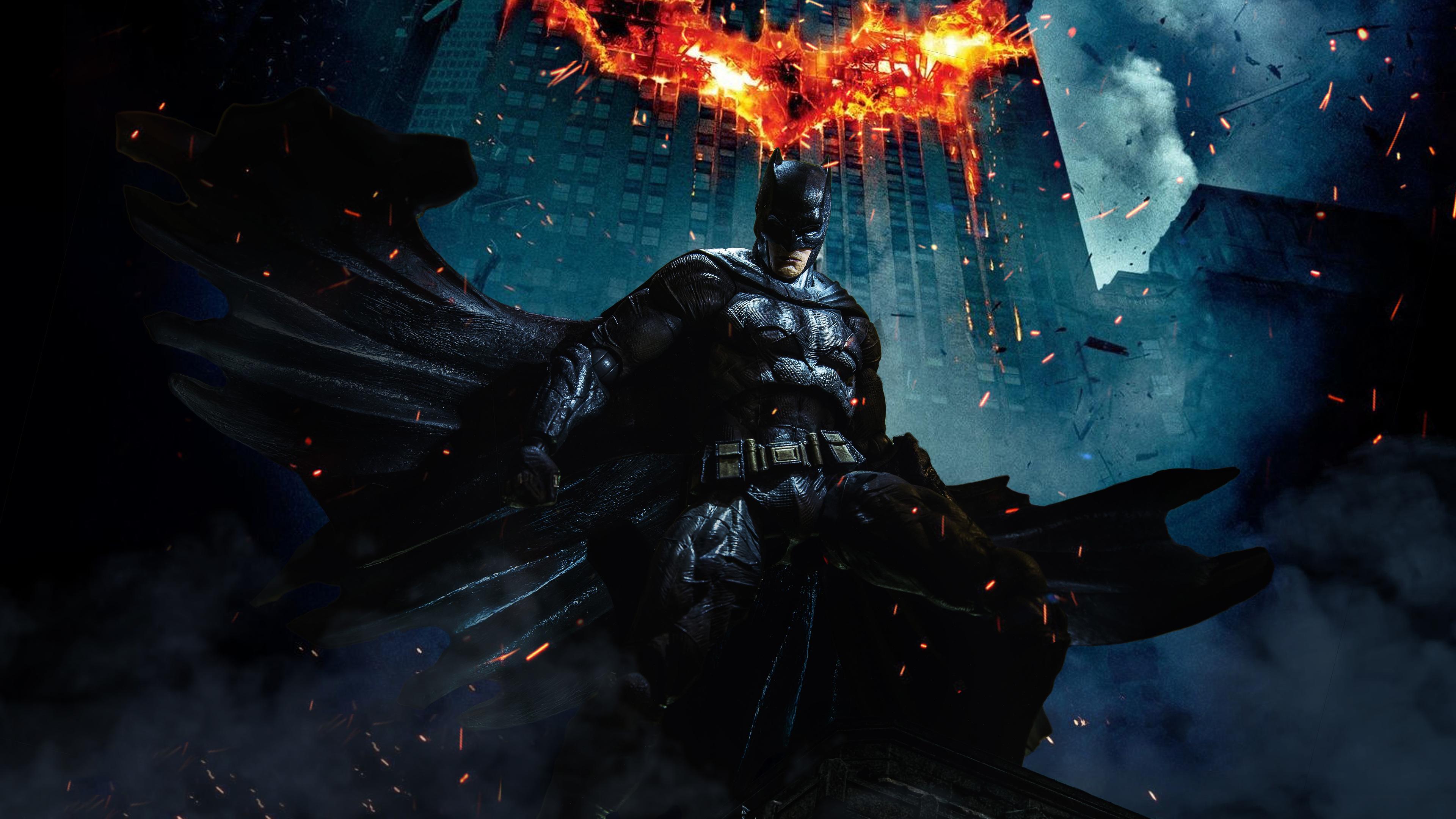 1280x1280 Car Wallpaper Batman Dark Knight 5k Superheroes Wallpapers Hd