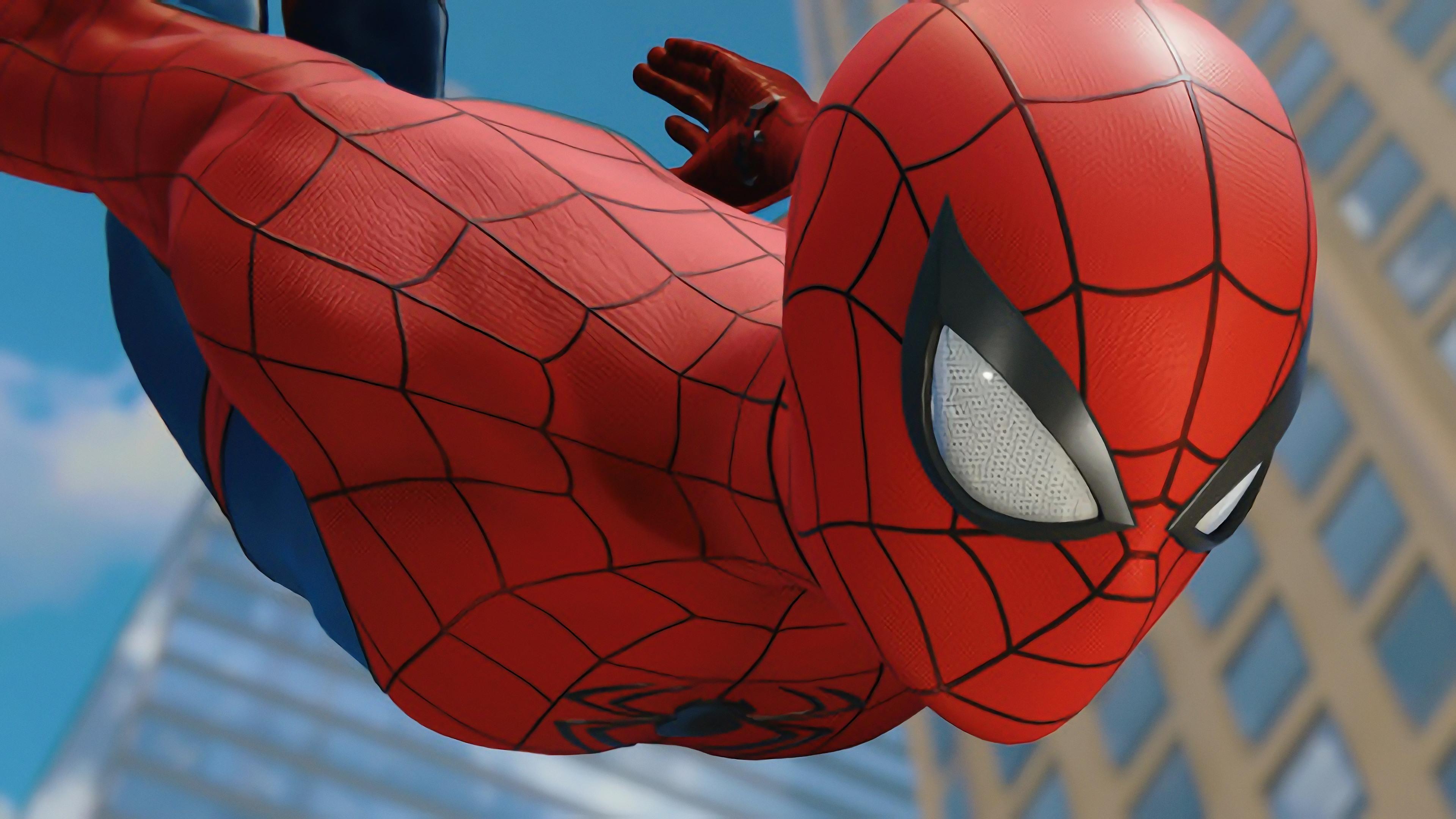 Happy Cute Girl Wallpaper Spiderman 4k Game Superheroes Wallpapers Spiderman