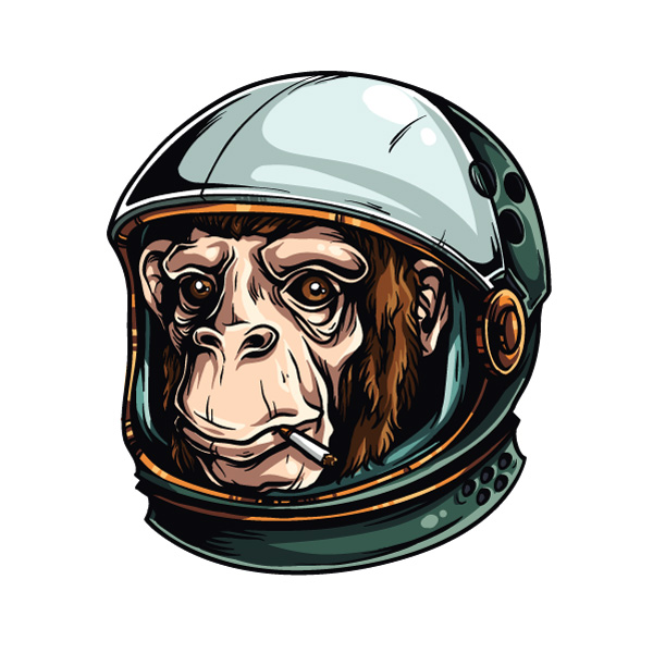 New Wallpaper For Iphone 5s Adobe Illustrator Tutorial How To Draw An Astrochimp