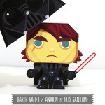 Darth Vader - Anakin Skywalker Papercraft