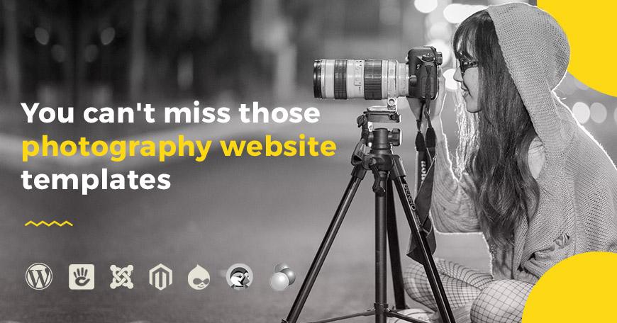 7 Photography Website Templates You Can\u0027t Miss - PixelEmu