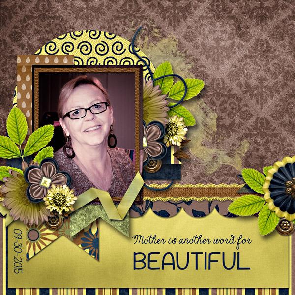 Another Word For Beautiful by Jodi Watson Pixel Scrapper Digital