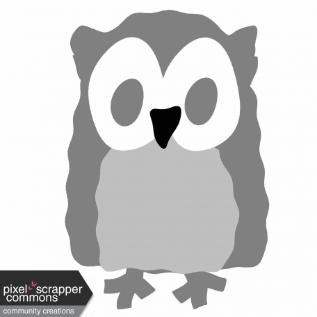 Awesome Autumn - Owl Template graphic by Melissa Riddle Pixel
