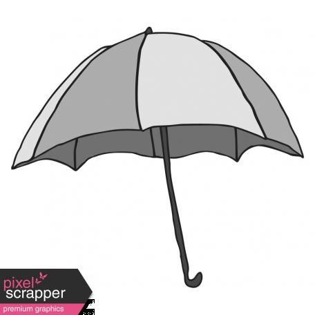 Umbrella Illustration Template graphic by Melo Vrijhof Pixel