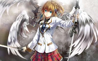 Anime Angel wings HD Image | PixelsTalk.Net