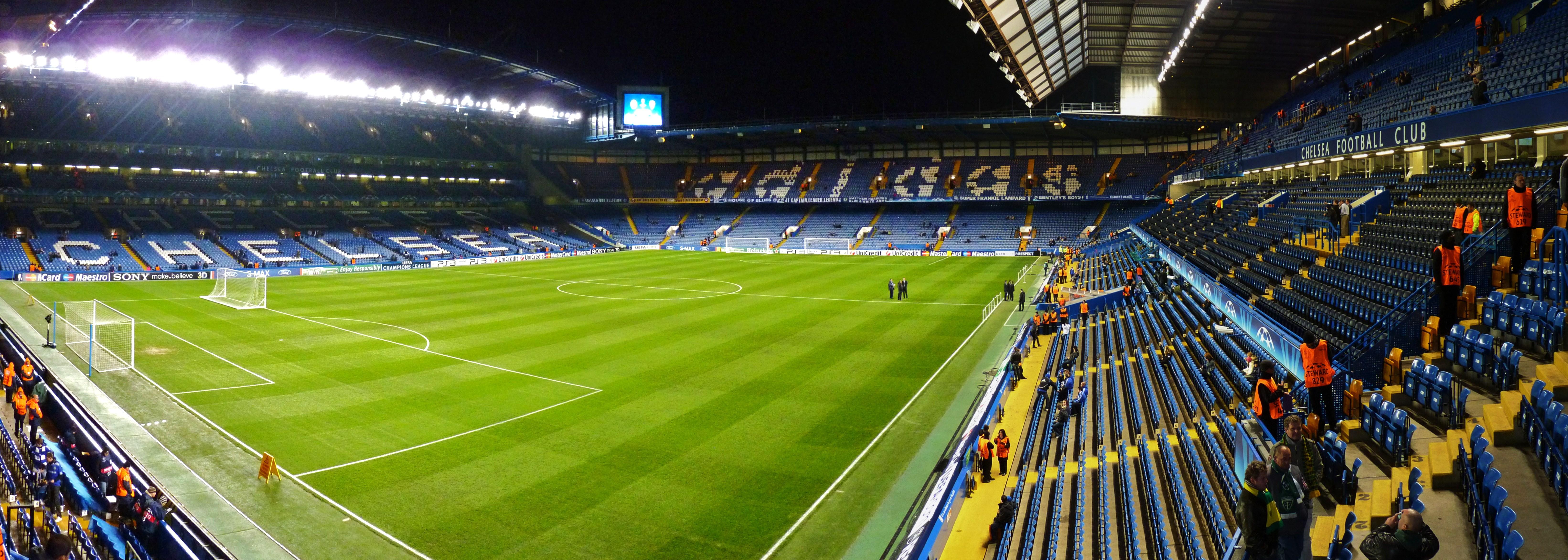 Chelsea Fc 3d Wallpapers Stamford Bridge Football Stadium Wallpaper Pixelstalk Net