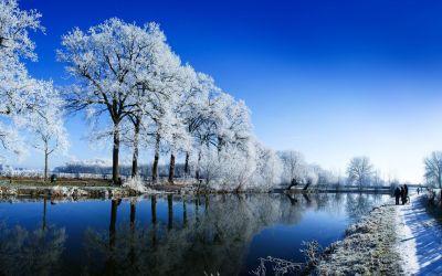 Winter and Snow Wallpaper | PixelsTalk.Net