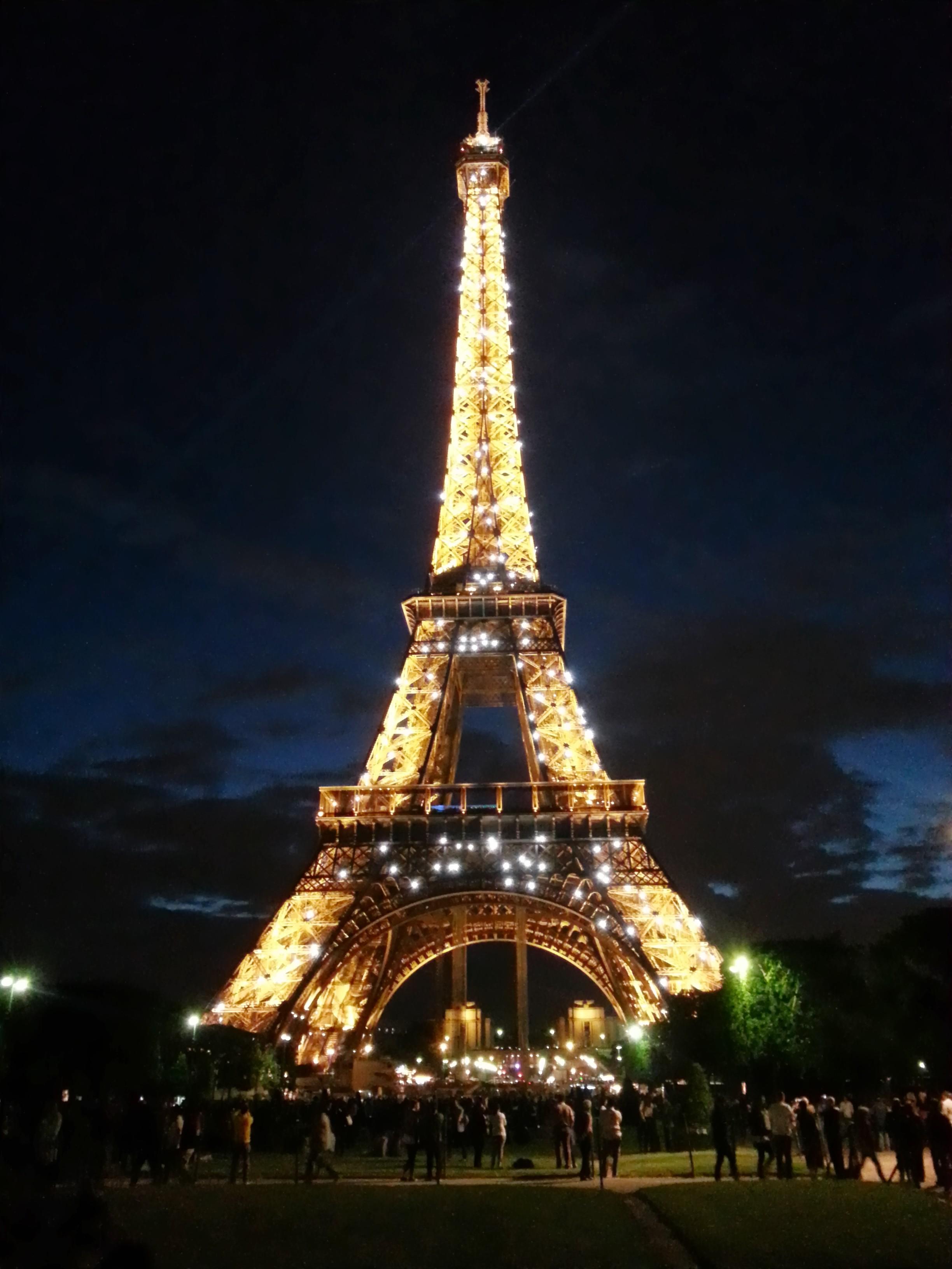 Fireworks Live Wallpaper Iphone Eiffel Tower Wallpapers At Night Pixelstalk Net