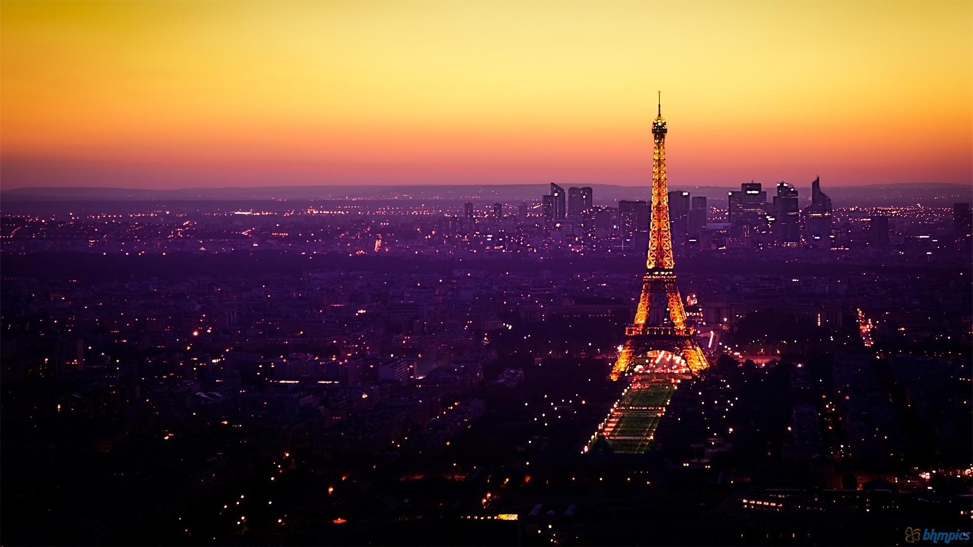 Eiffel tower wallpapers at night pixelstalk net