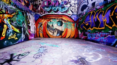 Graffiti Background Wall Street Art | PixelsTalk.Net