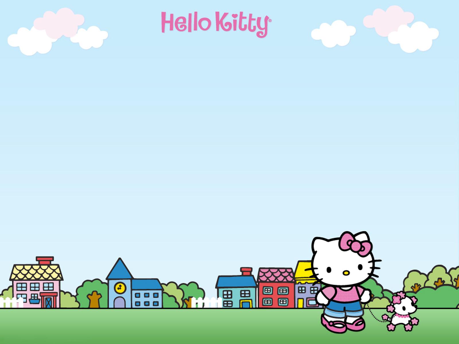 Cute Girly Laptop Wallpapers Hello Kitty Desktop Wallpapers Pixelstalk Net