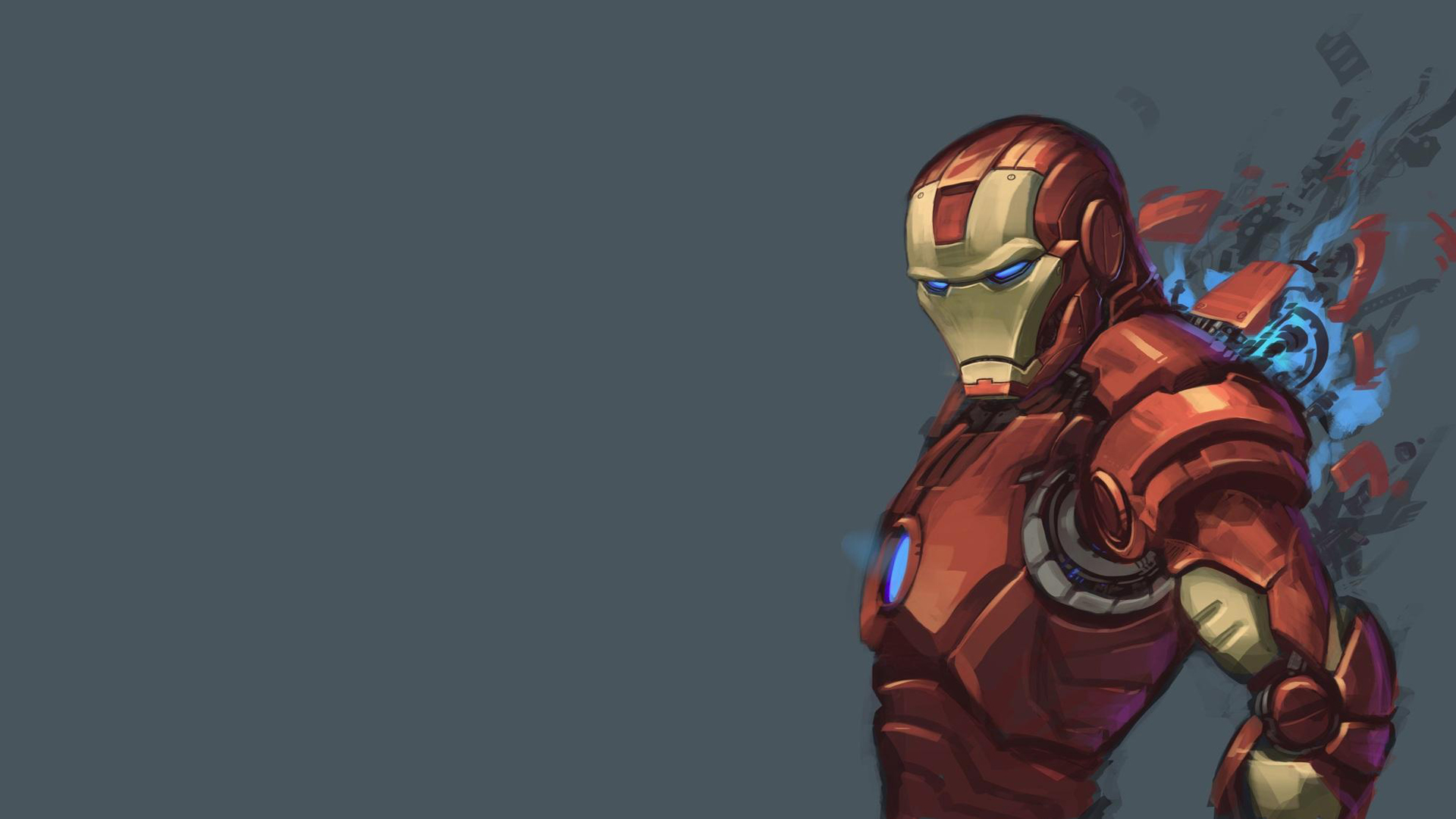 Tony Stark Hd Wallpapers Iron Man Comic Cartoon Wallpapers Pixelstalk Net
