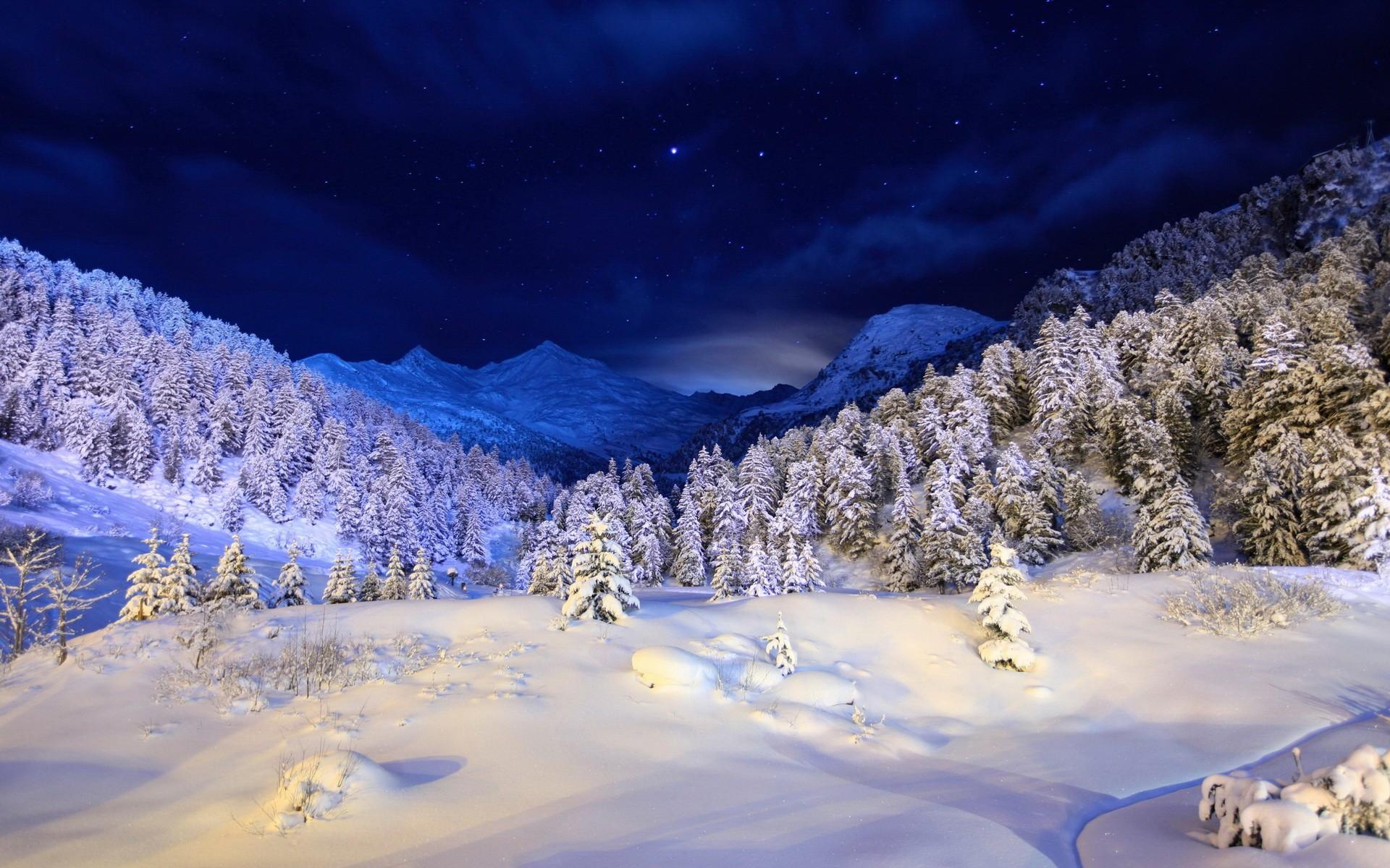 Free 3d Fall Wallpaper Winter Landscape Wallpaper Full Hd Pixelstalk Net