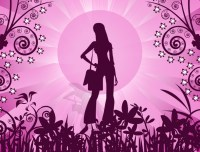 Girly backgrounds desktop | PixelsTalk.Net