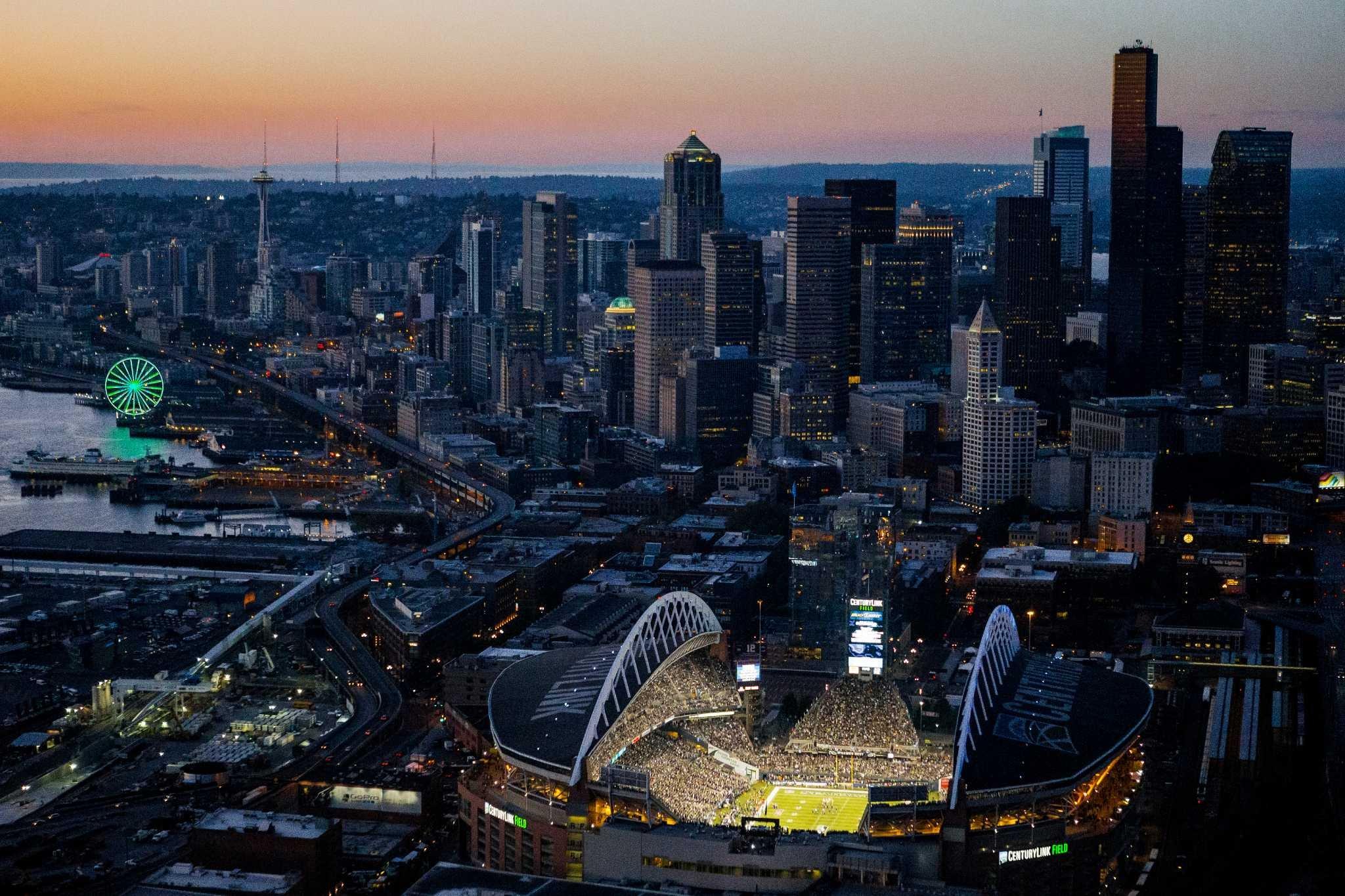 Seahawks Hd Wallpaper Seattle Seahawk Stadium Backgrounds Pixelstalk Net