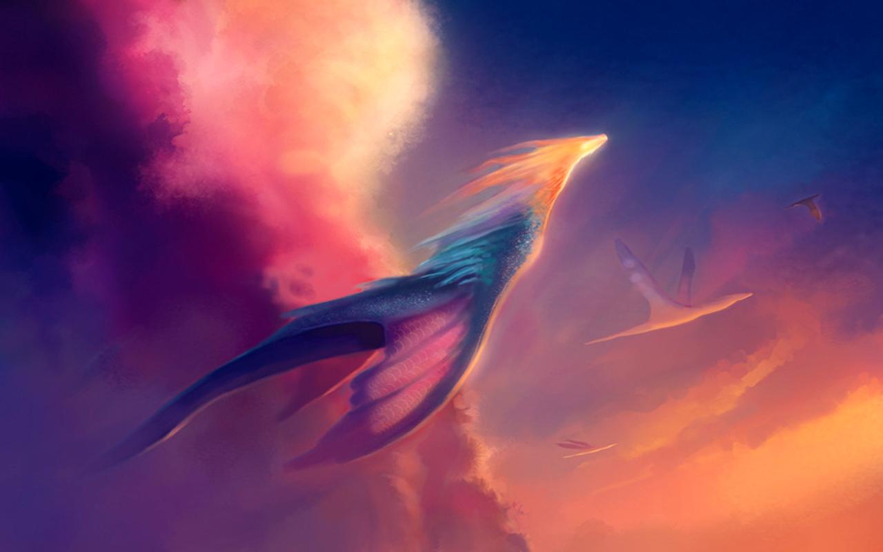 Retro Fall Computer Wallpaper Cool Dragon Hd Wallpaper Backgrounds Free Download