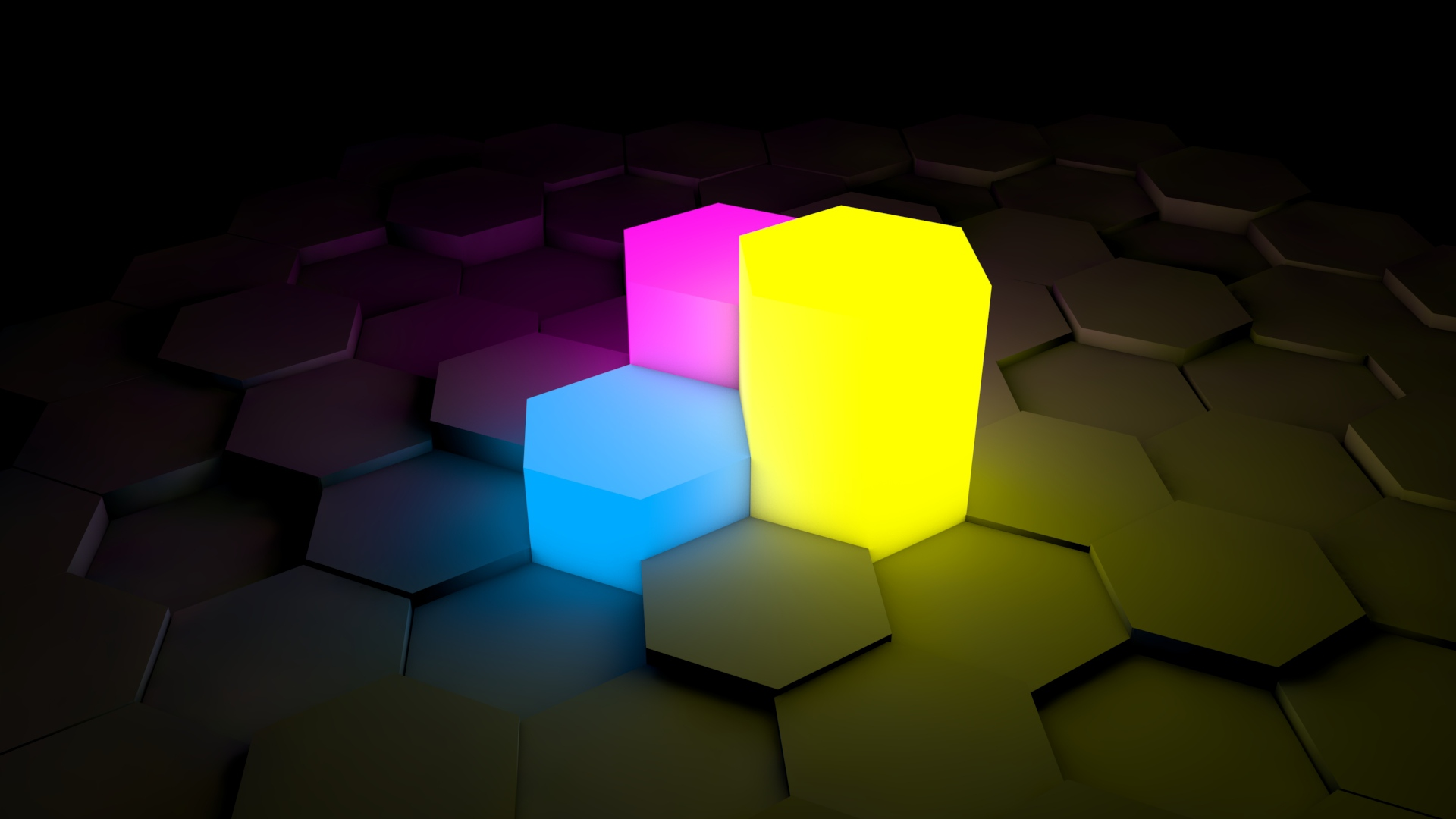 3d Cube Desktop Wallpaper Abstract Neon Wallpapers Hd Pixelstalk Net