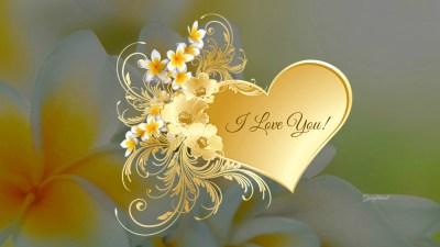 Flower I Love You Wallpaper | PixelsTalk.Net