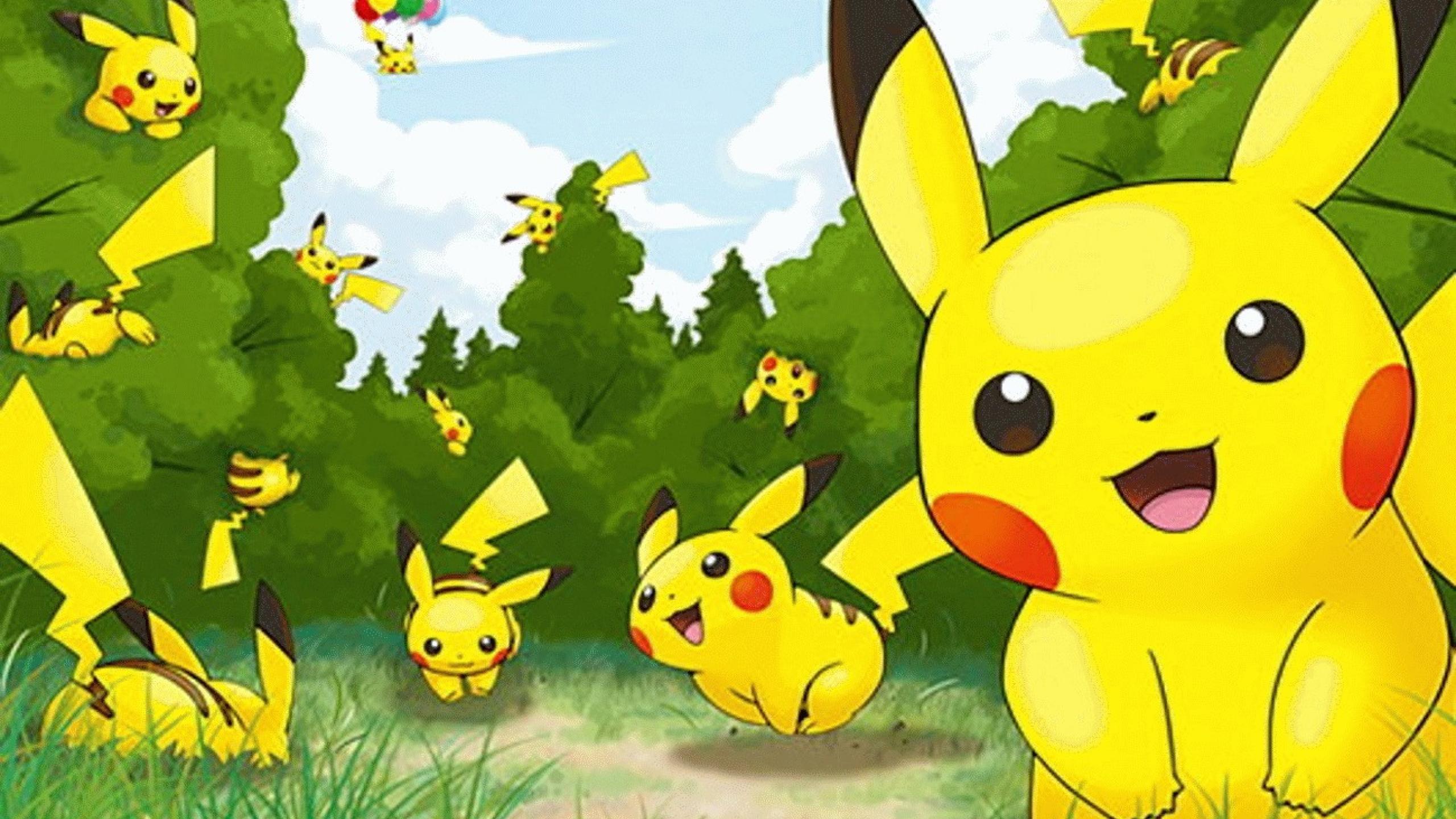 Totoro Cute Wallpaper Free Download Pikachu Backgrounds Pixelstalk Net