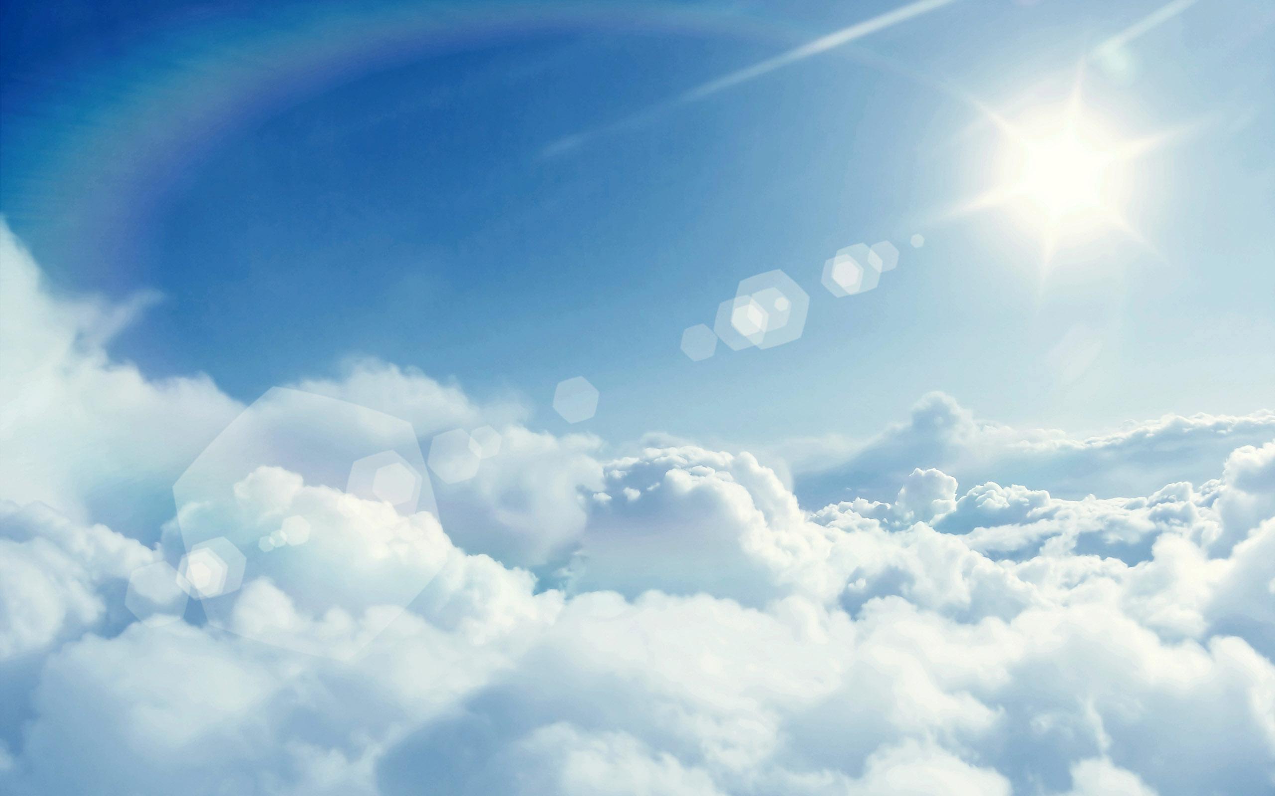 Windows 10 Nature Wallpaper Hd 3d For Desktop Sun And Clouds Wallpaper Pixelstalk Net