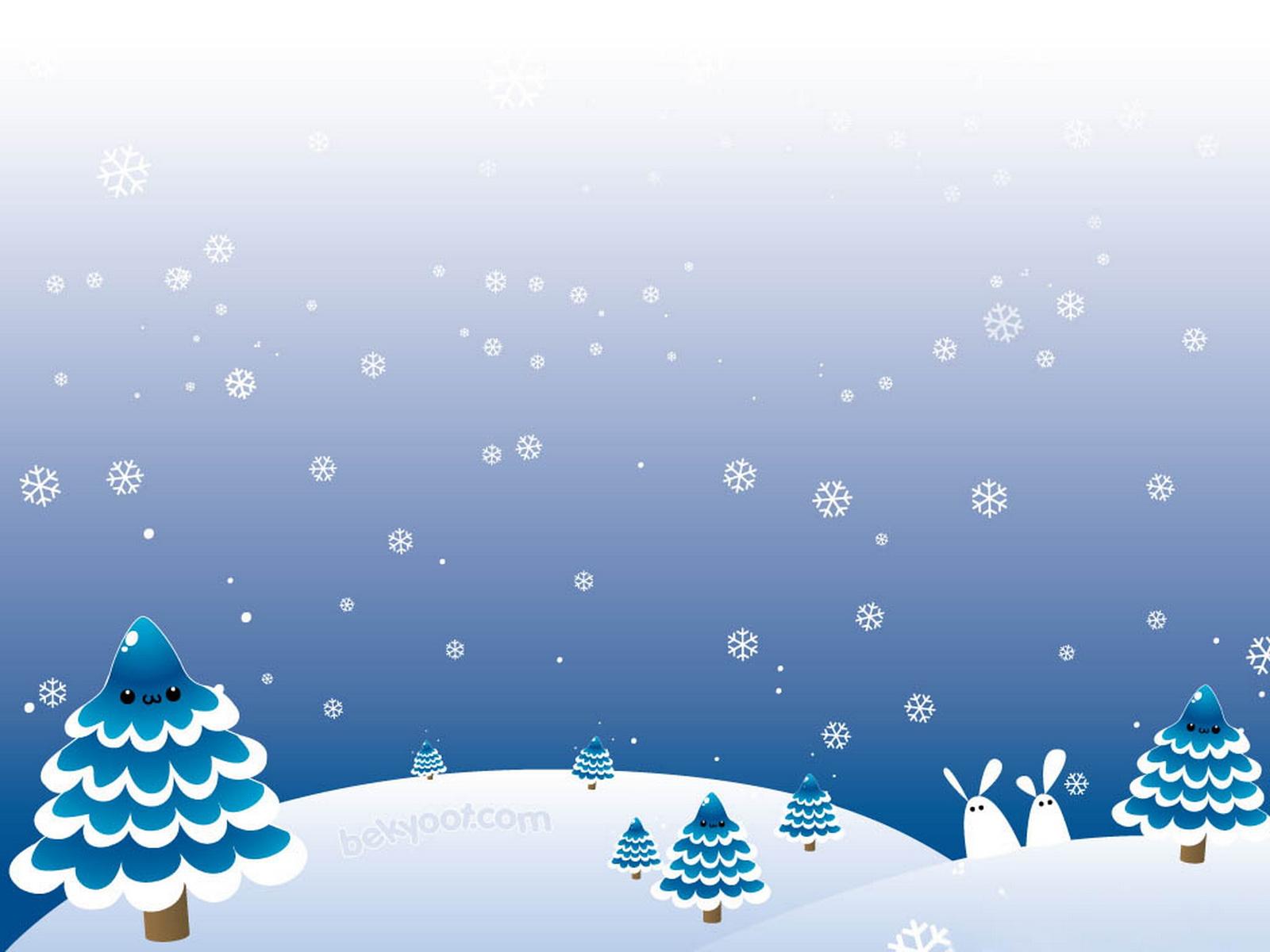 Snow Falling Desktop Wallpaper Winter Holiday Wallpapers Pixelstalk Net