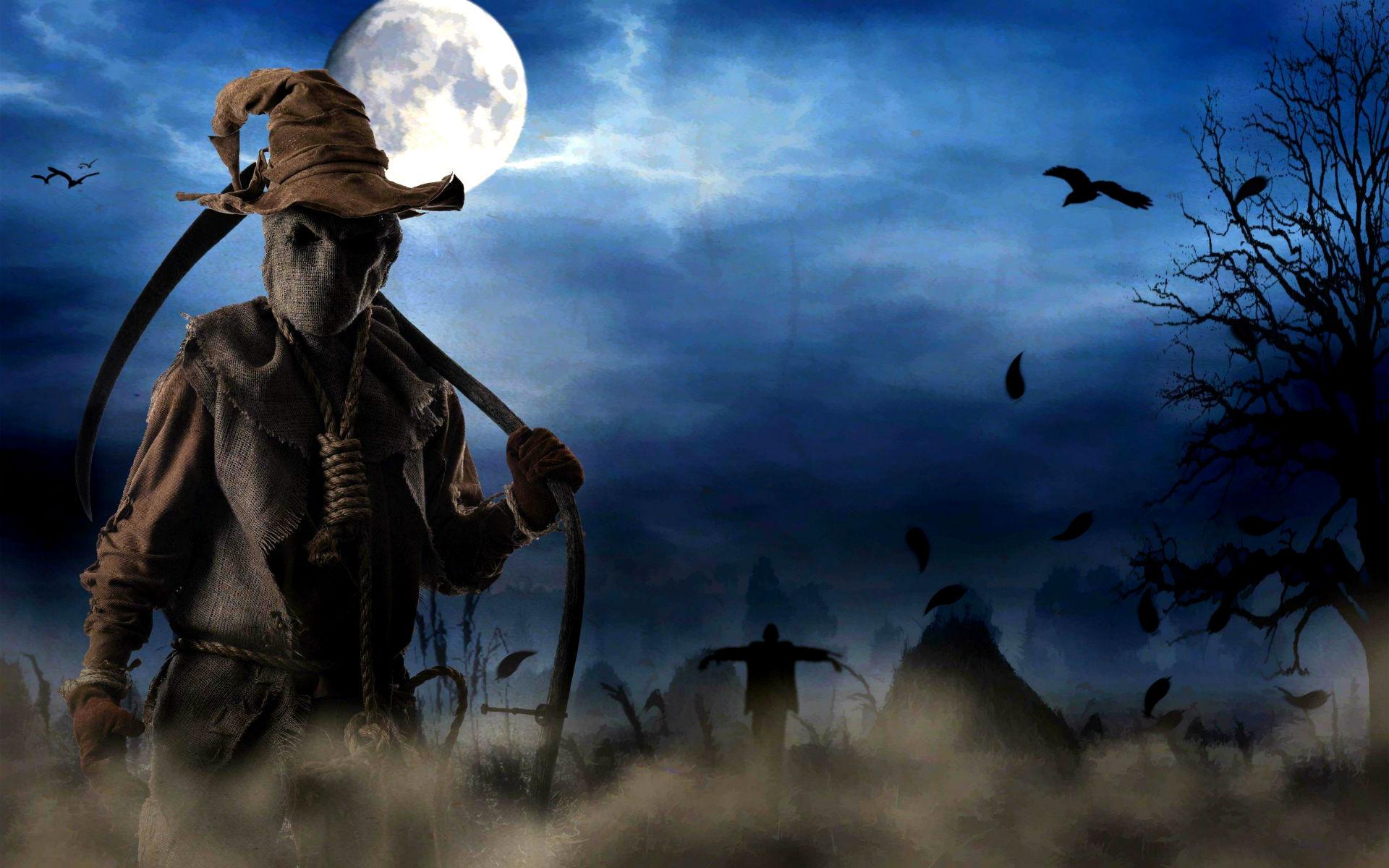 3d Moon Night Wallpaper Free Download Halloween Backgrounds Pixelstalk Net