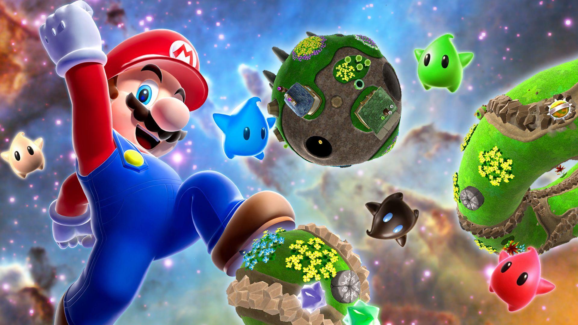 Free Fall Season Desktop Wallpapers Mario Wallpaper Hd Pixelstalk Net