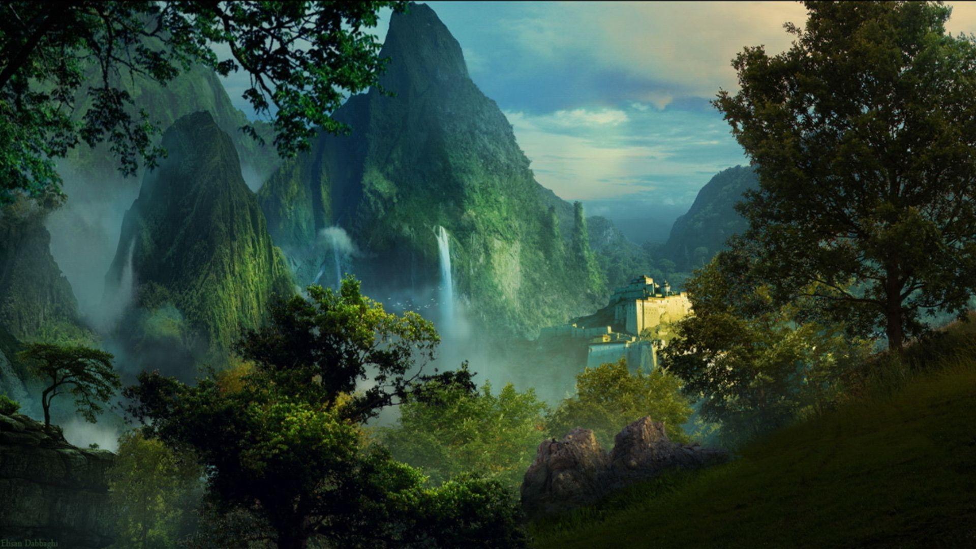 Free Desktop Wallpaper Fall Season Fantasy Wallpaper Hd Pixelstalk Net