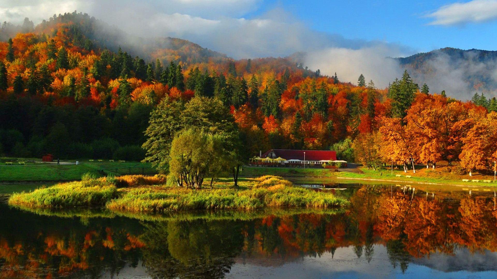 Golf Course Fall Season Wallpaper Pc Autumn Wallpaper Hd Let You Feel The Magic Of Fall