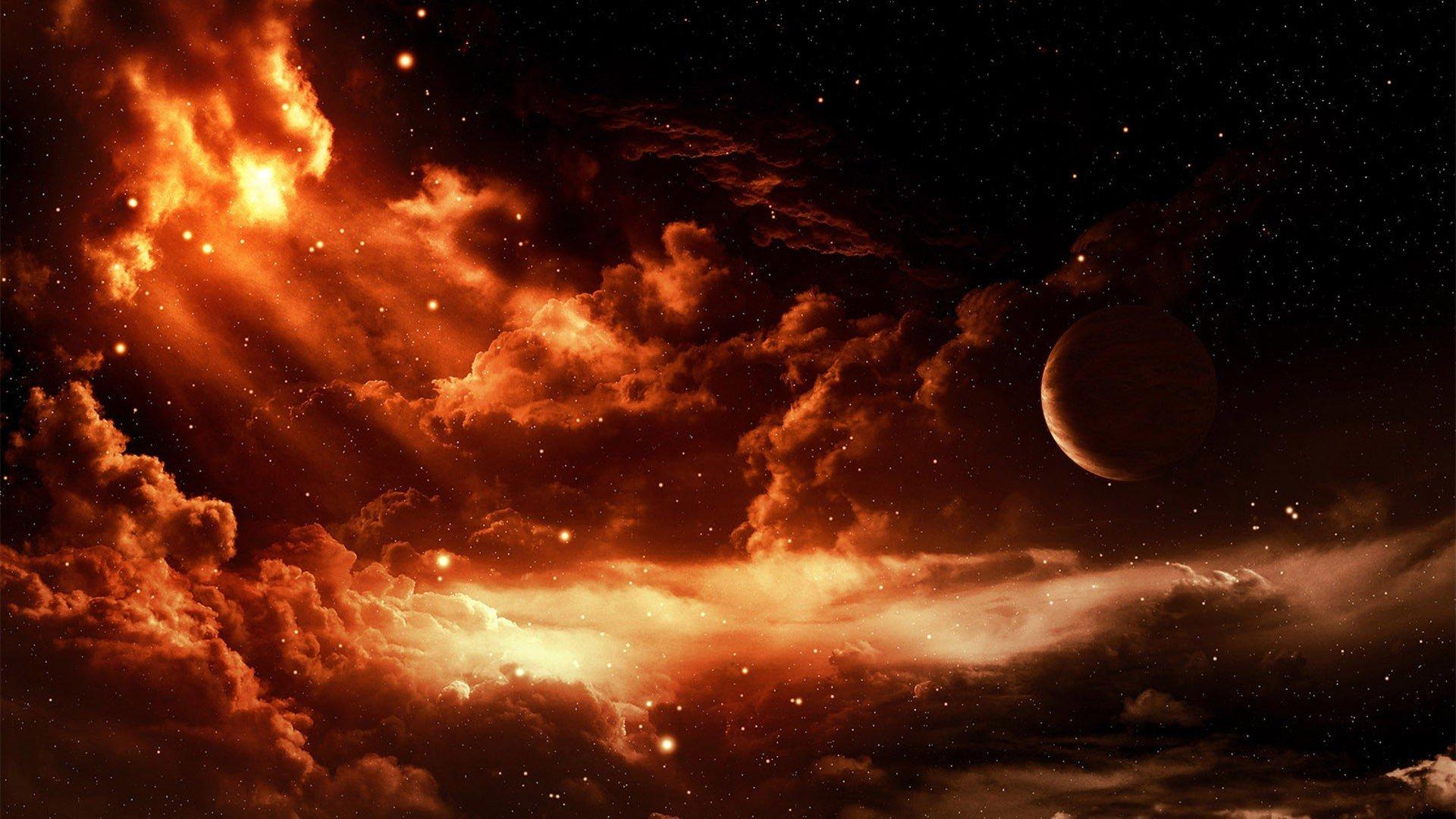 Desktop Wallpaper Hd 3d Full Screen God Red Moon Wallpaper Hd Pixelstalk Net