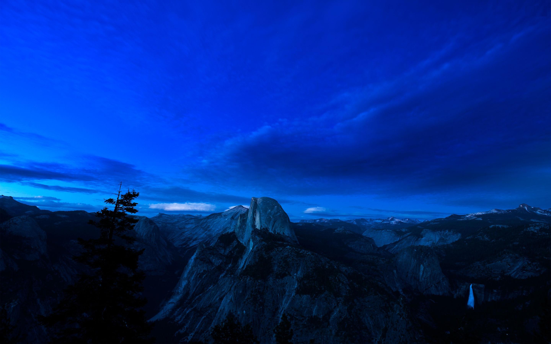 Free Fall Nature Wallpaper Yosemite Night Wallpaper Pixelstalk Net