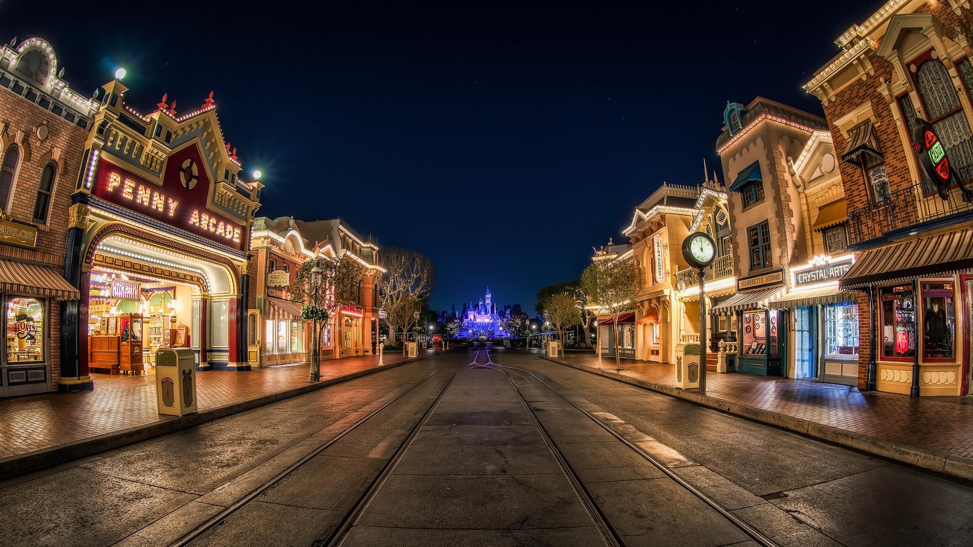 Harry Potter Wallpapers Hd For Desktop Disneyland Hd Wallpapers Pixelstalk Net