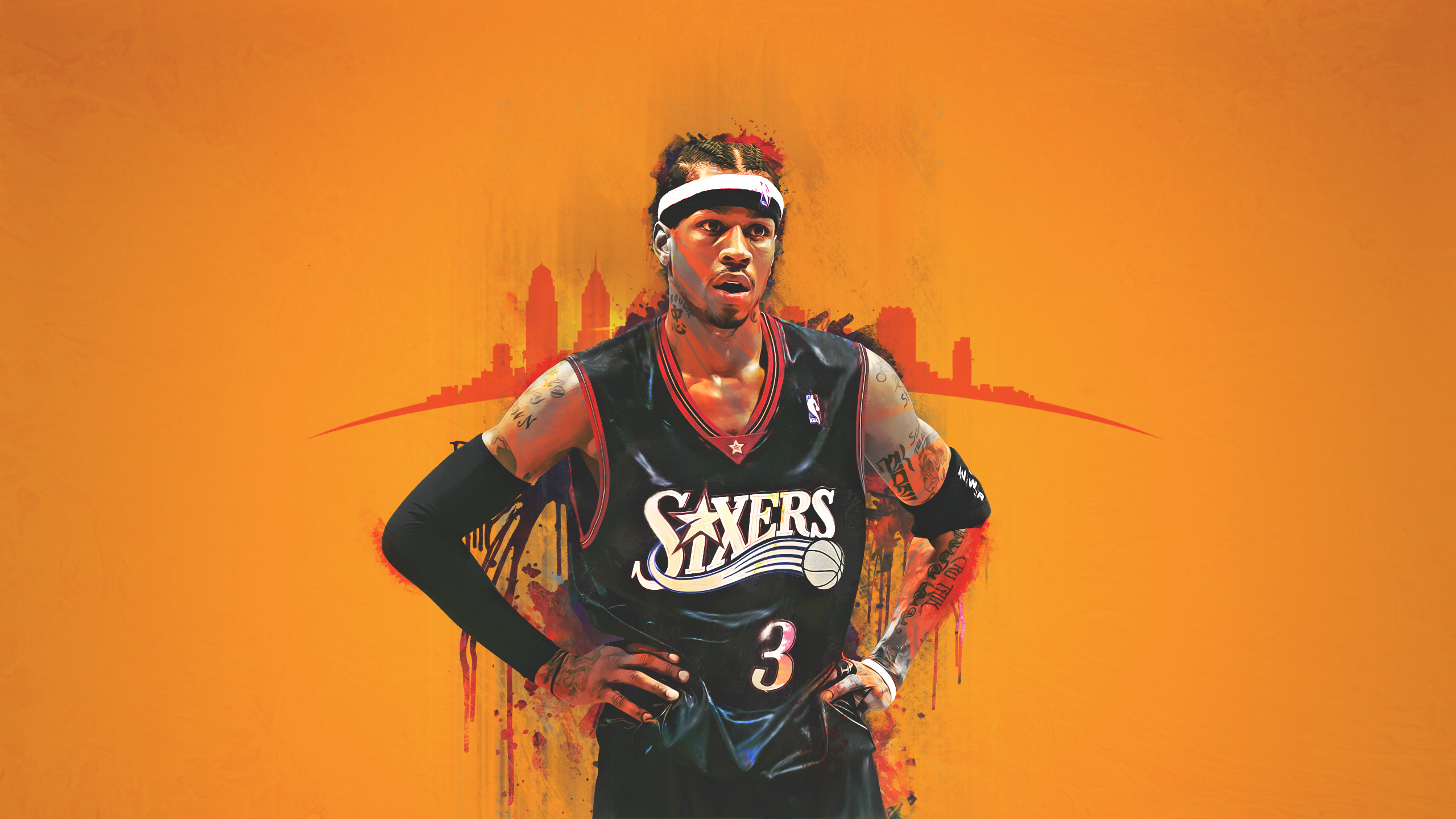 Kobe Bryant Wallpaper Hd Allen Iverson Backgrounds Pixelstalk Net