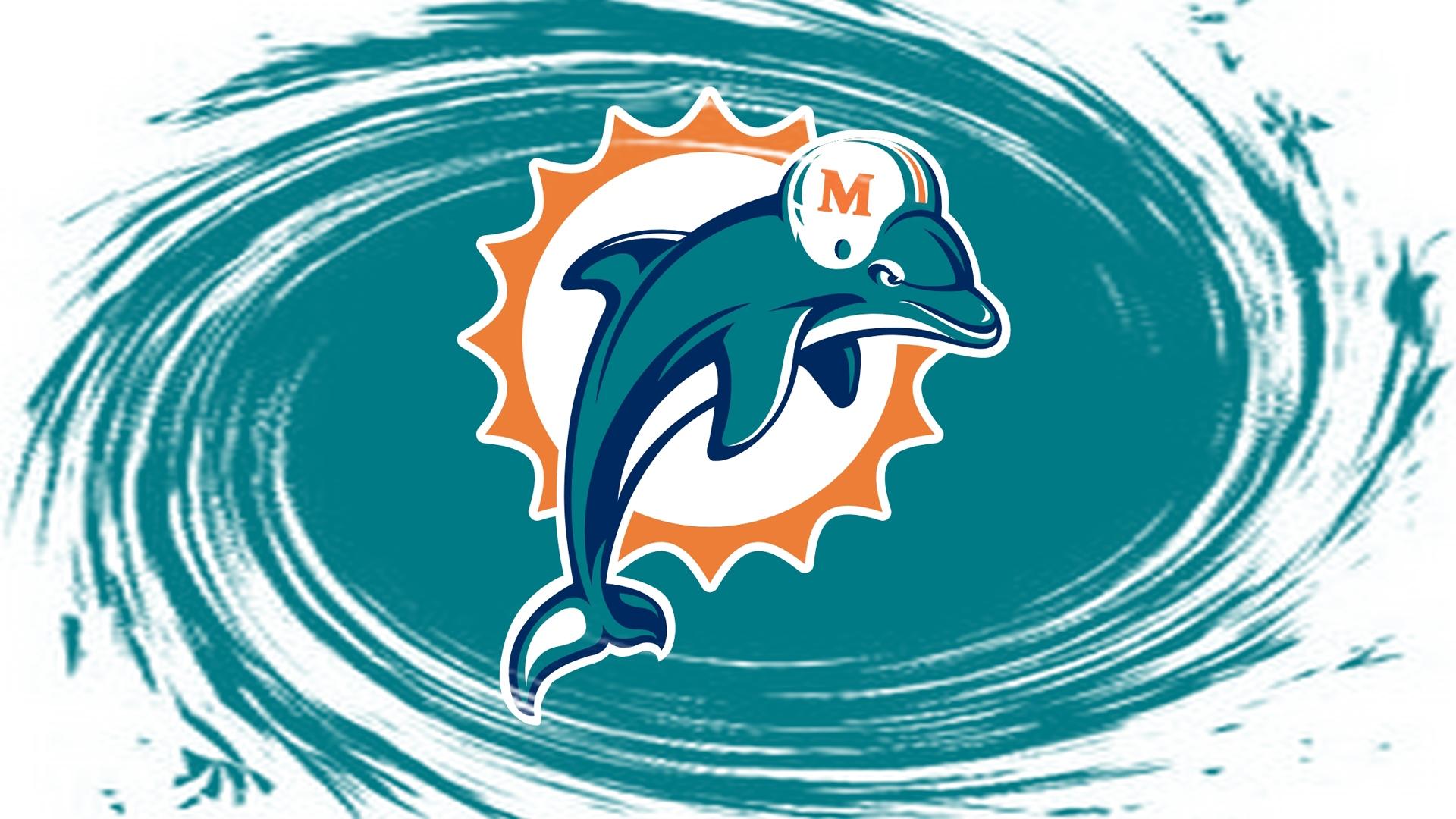 Miami Iphone X Wallpaper Miami Dolphins Logo Wallpaper Pixelstalk Net